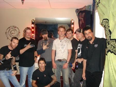 BEDLAM opening 4 Godsmack playing