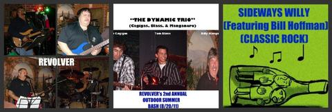 (PART 2, The Video) REVOLVER's 2nd ANNUAL OUTDOOR SUMMER BASH (8/20/11), by REVOLVER, THE DYNAMIC TRIO, BILL HOFFMAN & SIDEWAYS WILLY on OurStage