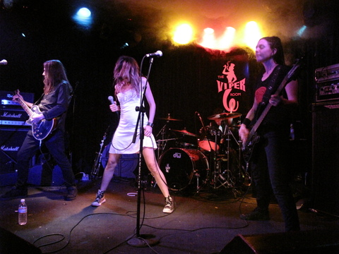 LIAC (live in the cave), by THE BLACK ORCHIDS on OurStage