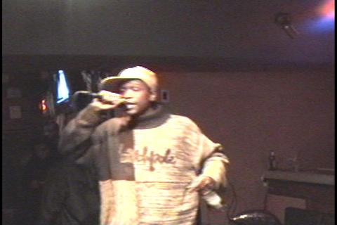 gangsta freestyle[live @ club blue], by ORIGINAL STYLEZ on OurStage