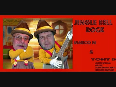 (THE VIDEO)  JINGLE BELL ROCK by MARCO M & TONY D with Special Guest ALESSANDRO , by MARCO M & TONY D(with ALESSANDRO BERTI on BASS GUITAR) on OurStage