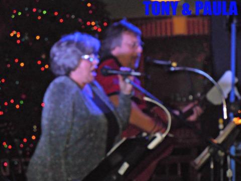 TONY & PAULA @ REVOLVER's CHRISTMAS BASH, 2012, by TONY & PAULA @ REVOLVER's CHRISTMAS BASH, 2012 on OurStage