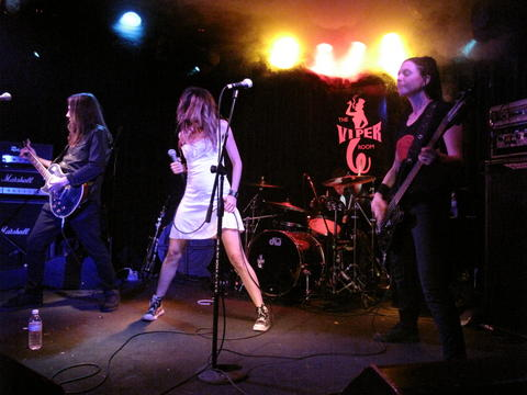 Love is a crime (live), by THE BLACK ORCHIDS on OurStage